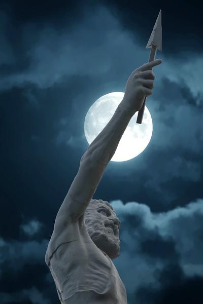 Moon Over Vulcan
