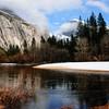 Breaking Storm Yosemite Half Dome