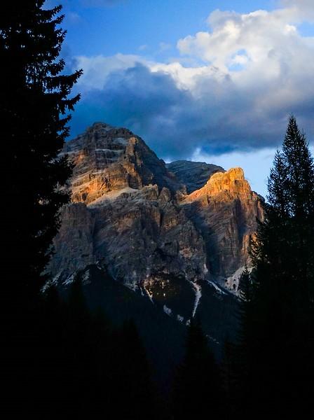 Sunset In The Italian Alps