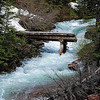 The Bridge is Out - Glacier National Park