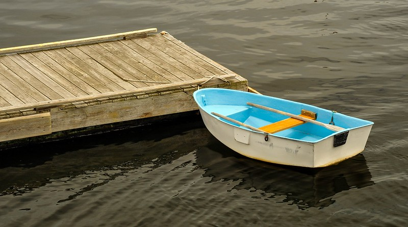 Little Blue Dinghy
