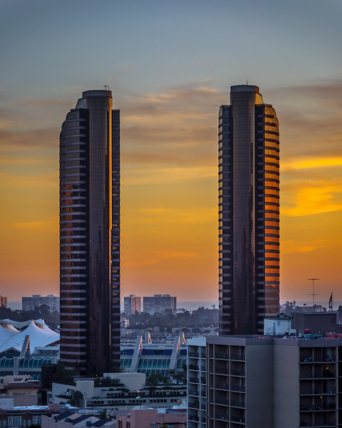 Pair of Towers