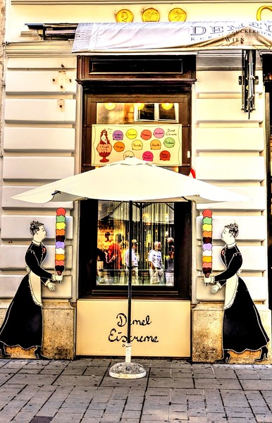 Ice Cream Shop in Vienna