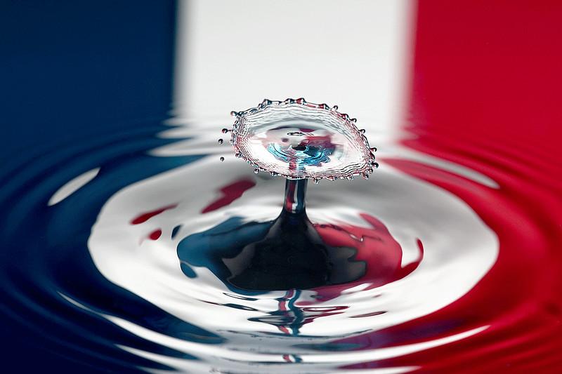 Patriotic Water Drop