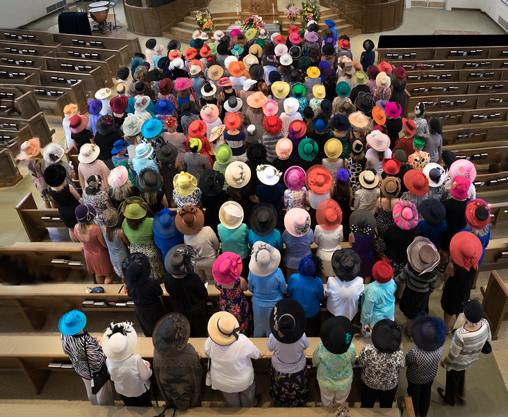Hats at a Funeral