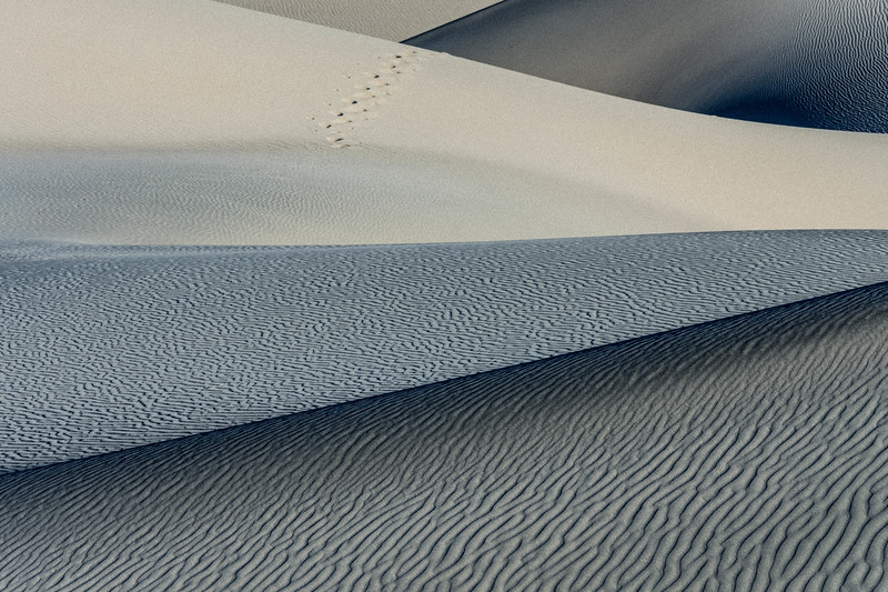 Abstract Sand Dunes Death Valley