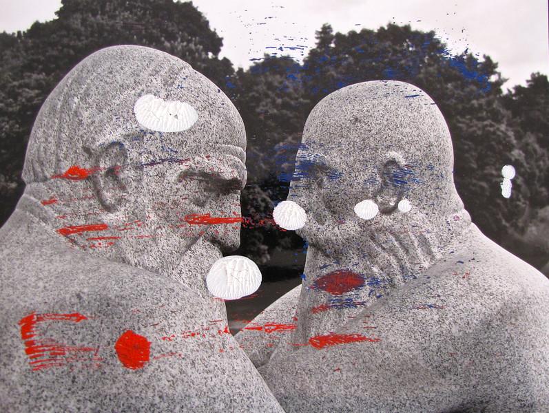 Vigeland Stone Men 006