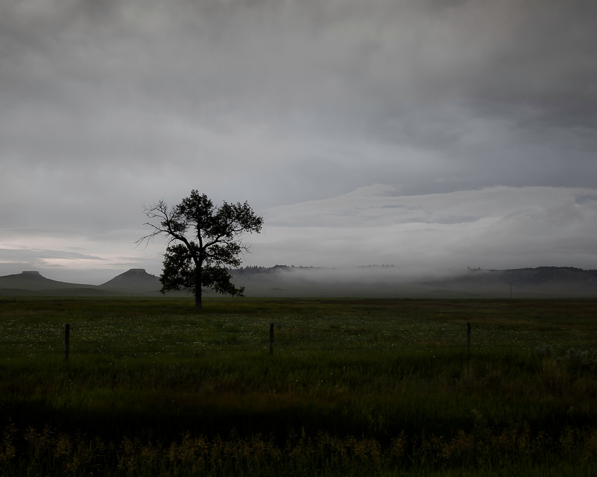 June 29th, 2013 - A Study in Mood<br /> <br /> I have been in South-eastern Montana for a while now. It's easy to fall in love with their green, rolling hills.<br /> Happy Saturday!