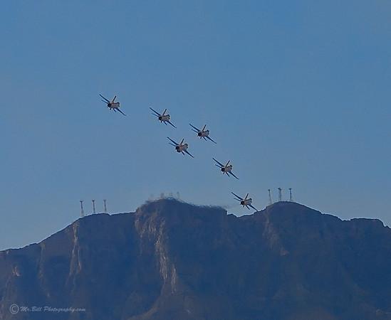 Thunderbirds - towards mountains