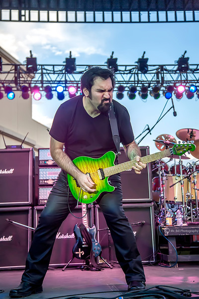 Richie Castellano (guitars) of Blue Oyster Cult @ Streetfest El Paso 2012