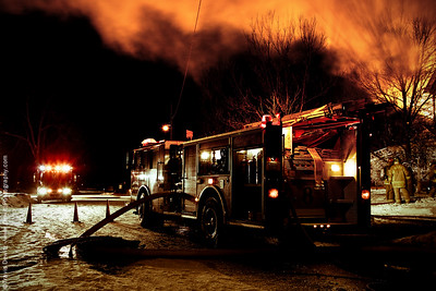 Lake Street Fire - Valentine's Day - 2-14-2010 - Eau Claire, WI