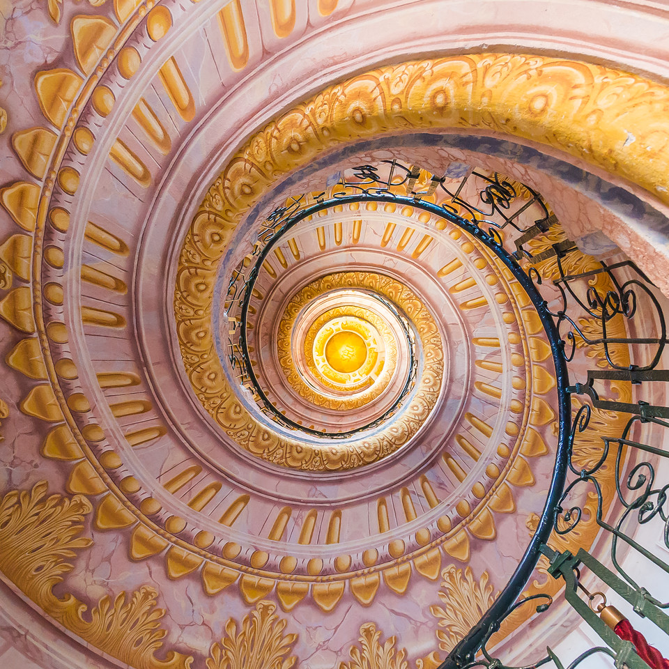 Staircase in Melk Abbey