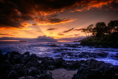 Makena Cove Sunset
