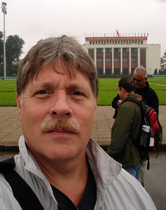 another arms-length self-pic, in Hanoi, Viet Nam