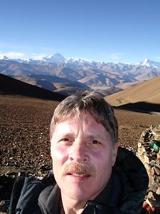 Everest on the horizon