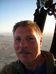 over Luxor, Egypt -2008