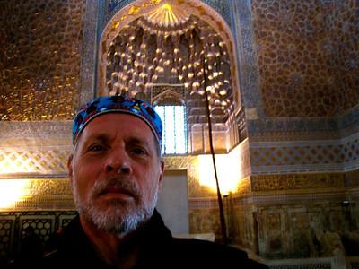 In Amir Timur's mausoleum in Samarkand, Uzbekistan