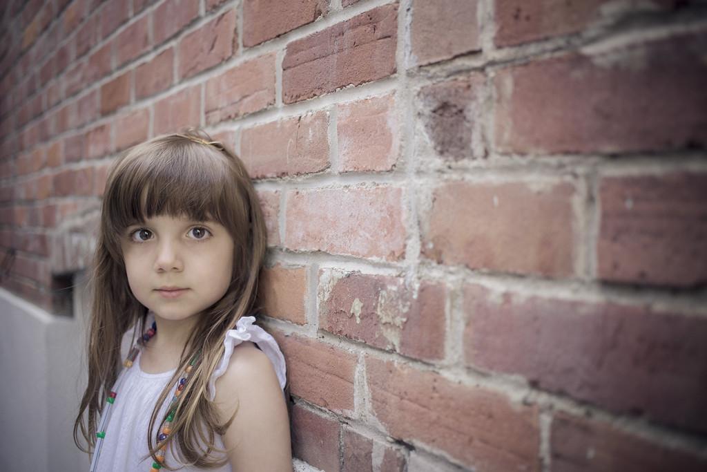 Child model shoot
