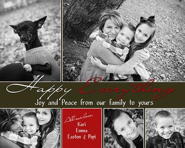 Kari holiday card low
