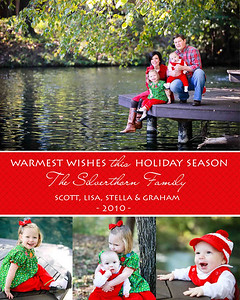 L&S Silverthorn holiday card