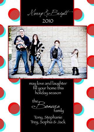Bonura family card dots