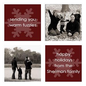 Sherman5x5 holiday card