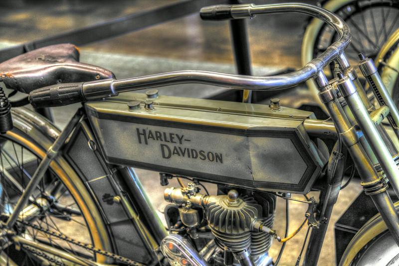 July 22, 2014 - HDR Vintage Harley