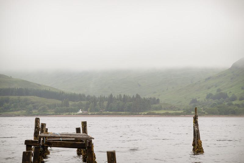 Scotland Fort William Jetty