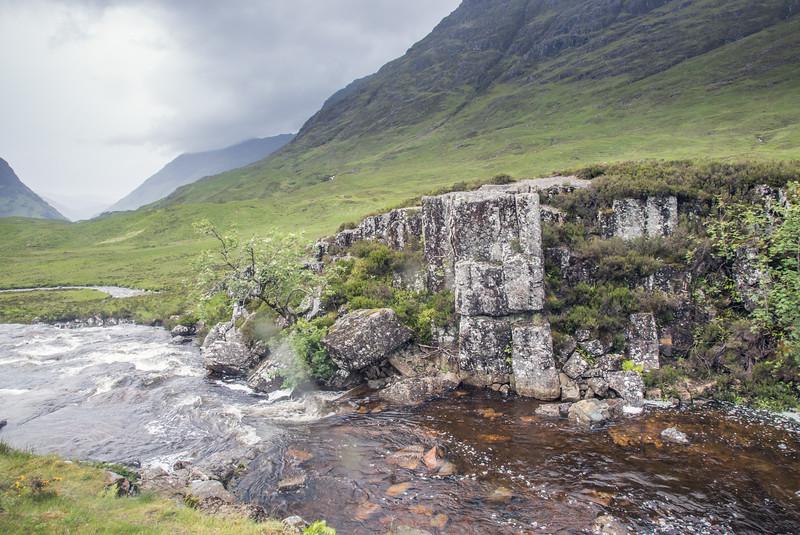 Scotland Moss Wall