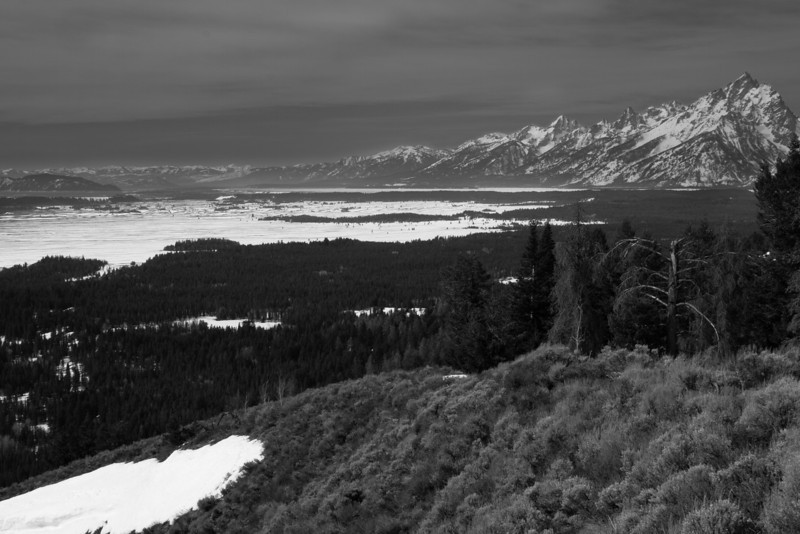 April 13th, 2012<br /> <br /> The front side of the Teton's.<br /> Happy Friday the 13th, hope you all have a great day!