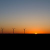 April 17th, 2012 - Windmills at Sunrise<br /> <br /> I drive past these on my way to work.<br /> Happy Tuesday!