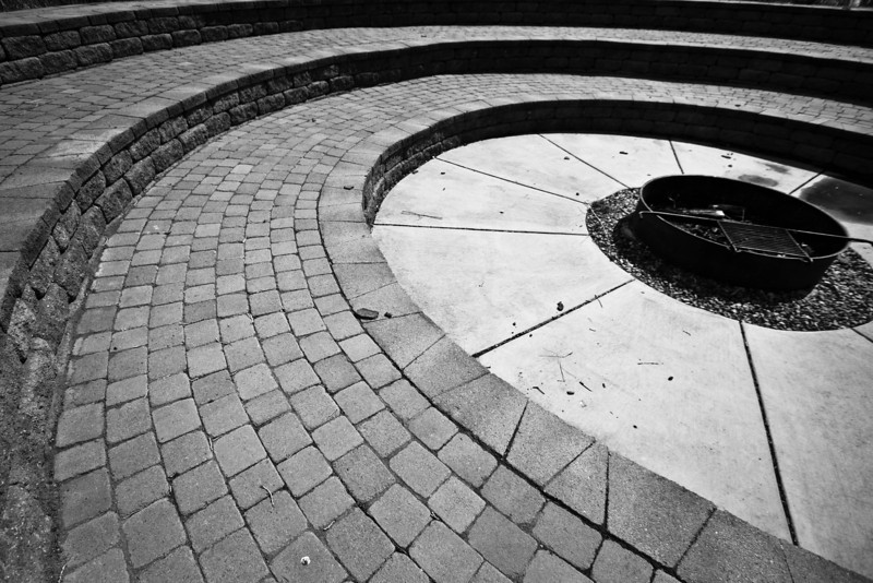 April 26th, 2012 - A Place Where Stories Come to Life<br /> <br /> A fire pit area in the downtown park here.<br /> Hope you all have a great Thursday!