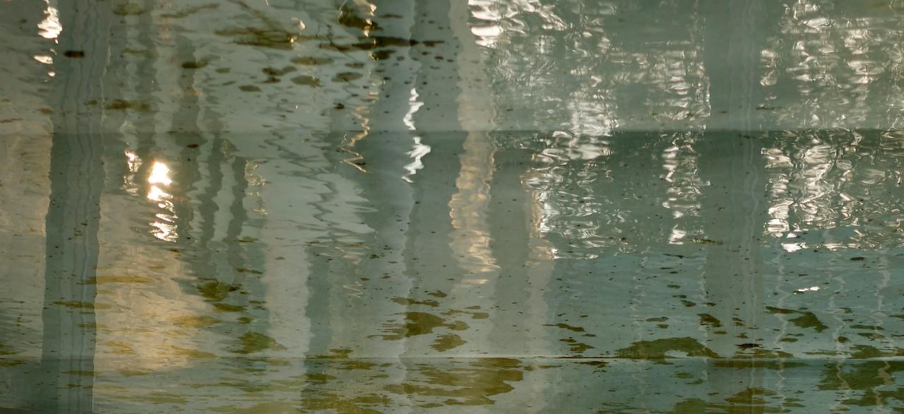 Water Reflection at Norwegian Embassy, Berlin