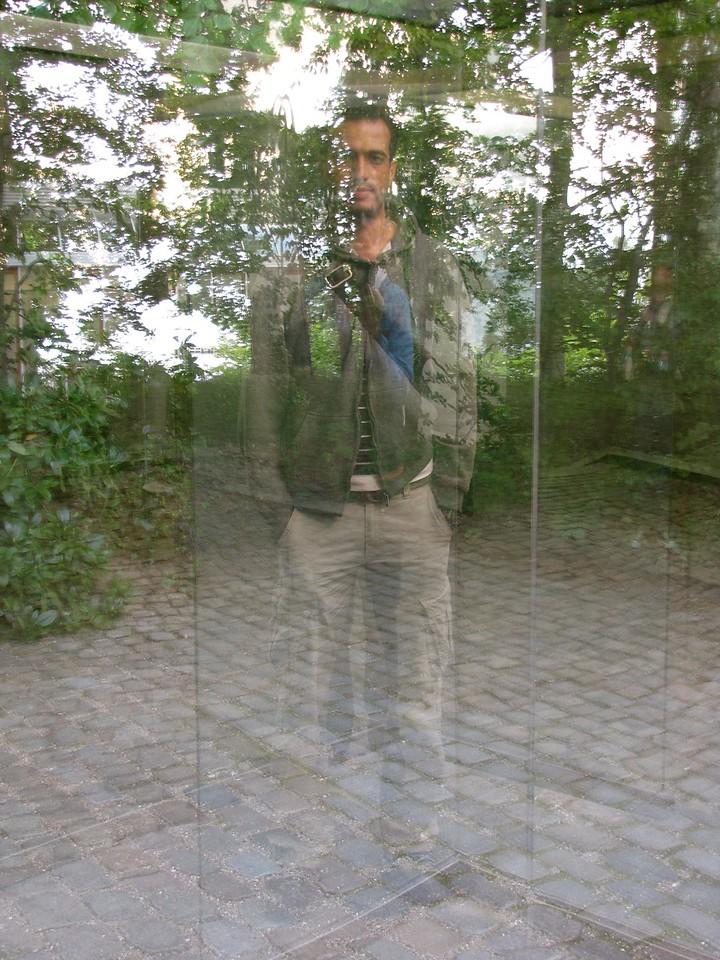 double reflection - Louisiana Museum, Denmark