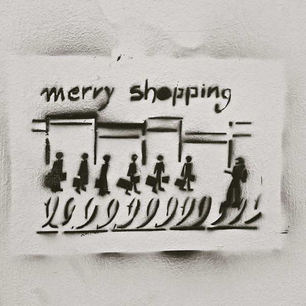 merry shopping, Heraklion, Crete