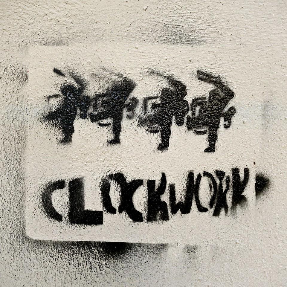 Clockwork... Heraklion, Crete