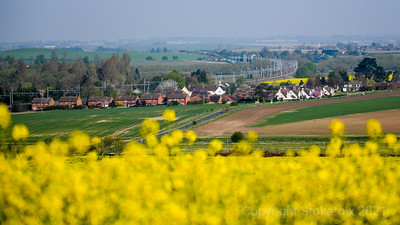South Stoke from Cleeve
