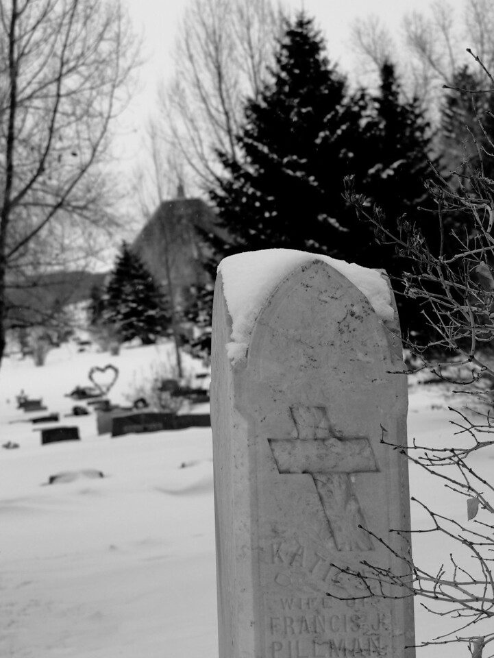 February 23rd, 2010<br /> <br /> Finally found the cemetery, never really been in here before so with the snow it was kind of hard to tell where I could and couldn't be. Need to go back through here when there isn't quite so much snow.