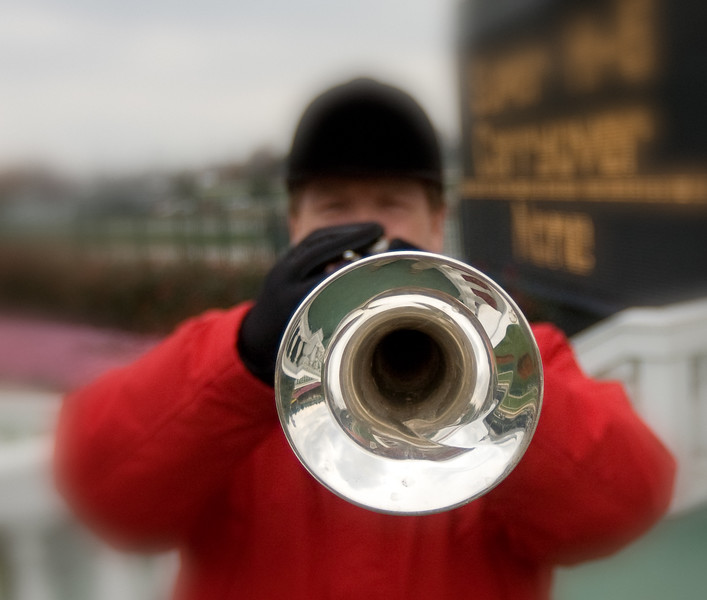 Steve Buttleman, Bugler, Churchill Downs