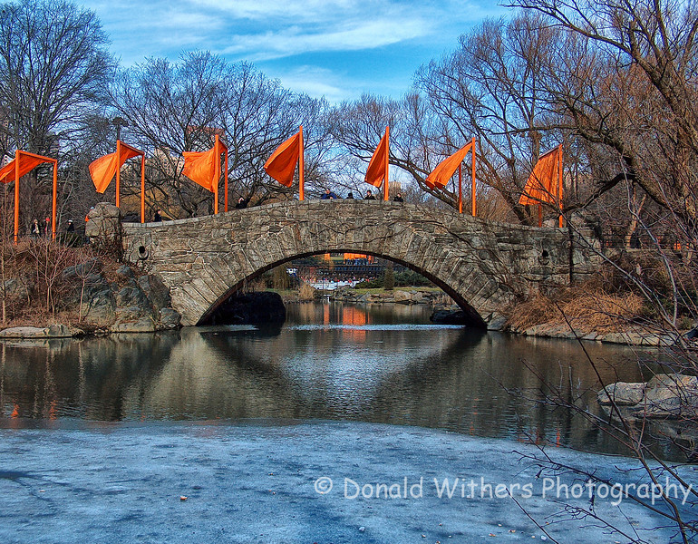 The Gates in Central Park | Christo and Jeanne-Claude -