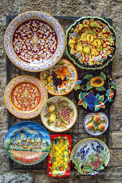 Tuscan Pottery