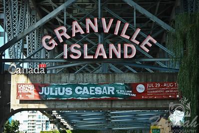 Granville Island signage Vancouver, British Columbia, Canada   © Copyright Hannah Pastrana Prieto