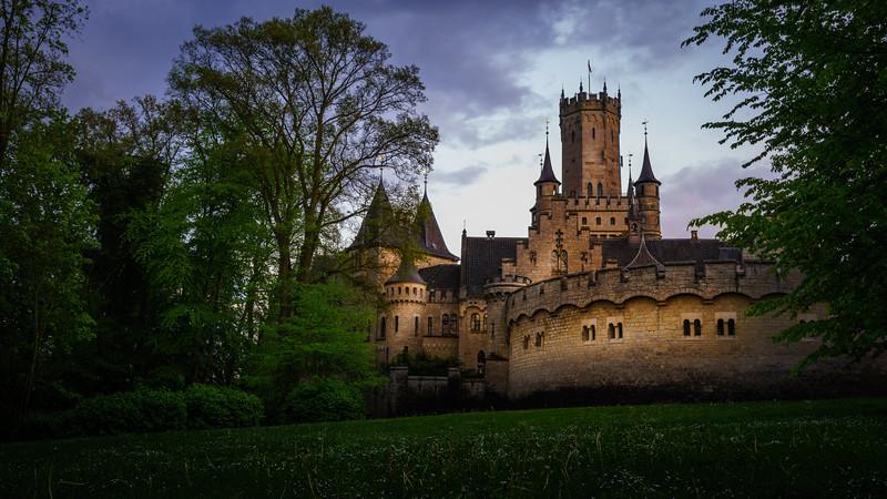 Marienburg after the Rain
