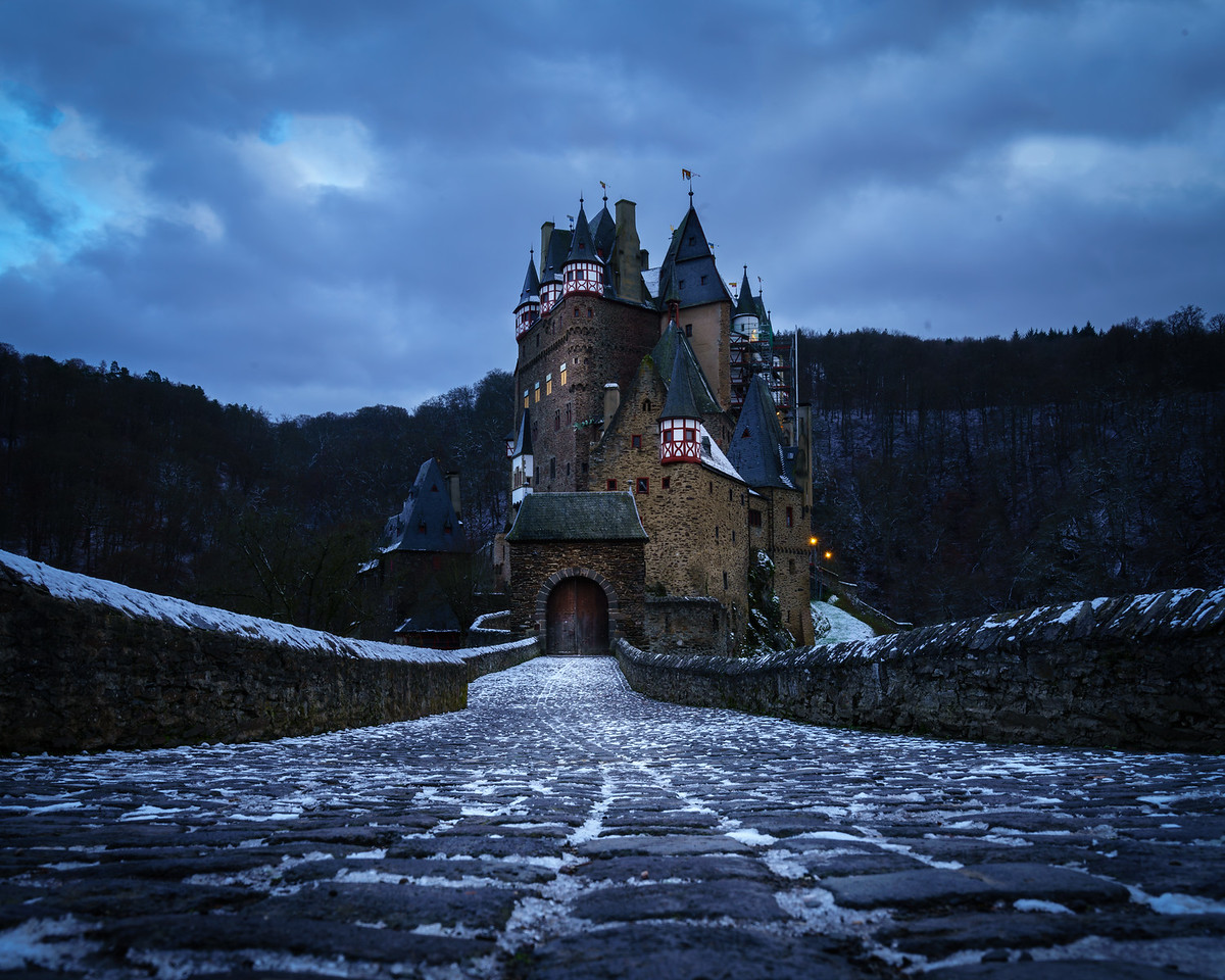The Gates of Castle Eltz