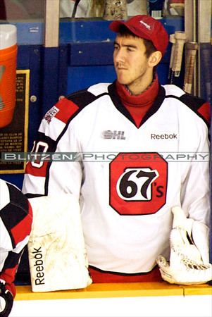 Newest 67's:  Goalie Michael Nishi
