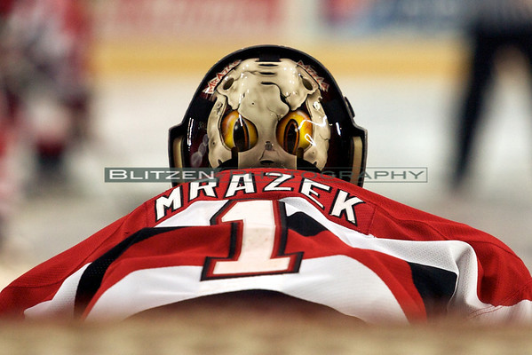Petr Mrazek's new mask