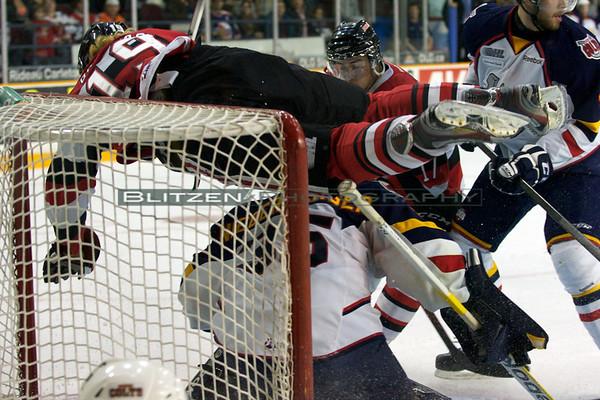 Tyler Graovac airborne - again.