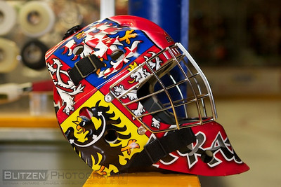 Petr Mrazek's goalie mask