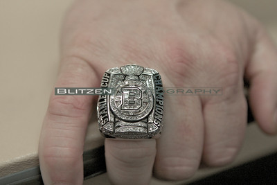 2011 Stanley Cup ring of Bruins Director of Amateur Scouting Wayne Smith