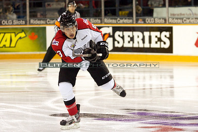 Cody Ceci from the Canada-Russia Subway Series on November 10